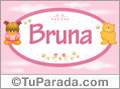 Bruna - Nombre para bebé