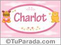 Nombre Charlot - Nombre para bebé