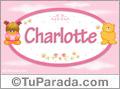 Charlotte - Nombre para bebé