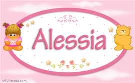 Alessia - Nombre para bebé