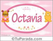 Nombre Octavia - Nombre para bebé
