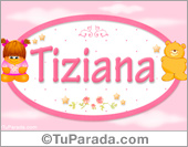 Tiziana - Nombre para bebé