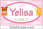 Yelisa - Nombre para bebé