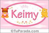 Keimy - Nombre para bebé
