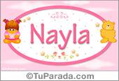 Nayla - Nombre para bebé