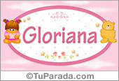 Gloriana - Nombre para bebé