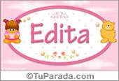 Edita - Nombre para bebé