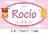 Rocío - Nombre para bebé