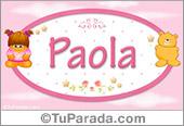 Paola - Nombre para bebé
