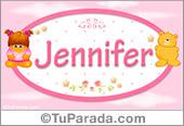 Jennifer - Nombre para bebé