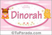 Dinorah - Nombre para bebé