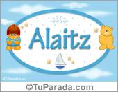 Alaitz - Con personajes