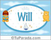 Will - Nombre para bebé
