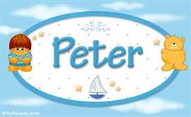Peter - Nombre para bebé
