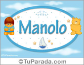 Manolo - Nombre para bebé