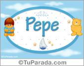 Pepe - Nombre para bebé