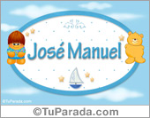 José Manuel - Nombre para bebé