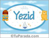Yezid - Nombre para bebé