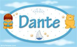 Dante - Nombre para bebé