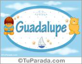 Guadalupe - Nombre para bebé