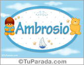Ambrosio - Nombre para bebé