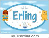Erling - Nombre para bebé