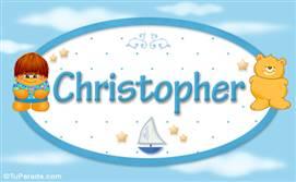 Christopher - Nombre para bebé