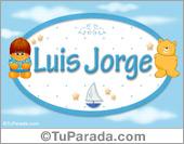 Luis Jorge - Nombre para bebé