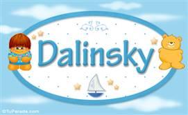 Dalinsky - Nombre para bebé