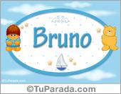 Bruno - Nombre para bebé