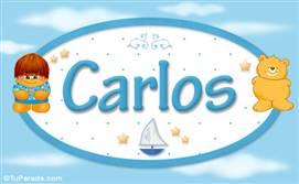 Carlos - Nombre para bebé