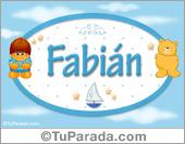Fabián - Nombre para bebé