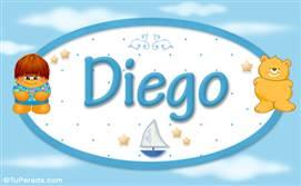 Diego - Nombre para bebé