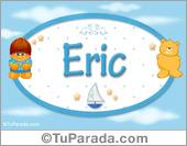 Eric - Nombre para bebé