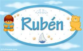 Rubén - Nombre para bebé