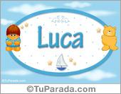 Luca - Nombre para bebé