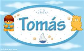 Tomás - Nombre para bebé