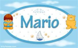 Mario - Nombre para bebé