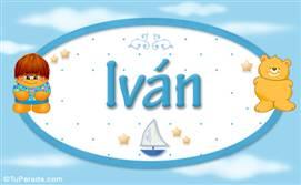 Iván - Nombre para bebé