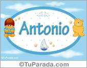 Antonio - Nombre para bebé