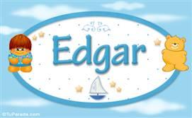 Edgar - Nombre para bebé