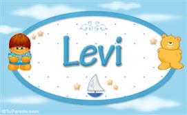 Levi - Nombre para bebé