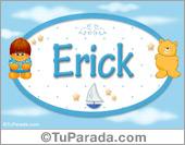 Erick - Nombre para bebé