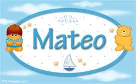 Mateo - Nombre para bebé