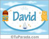 David - Nombre para bebé