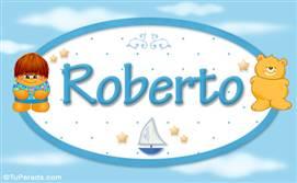 Roberto - Nombre para bebé