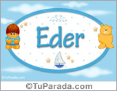 Eder - Nombre para bebé