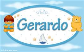 Gerardo - Nombre para bebé