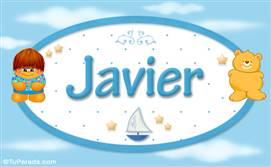 Javier - Nombre para bebé