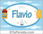 Flavio - Nombres para bebé